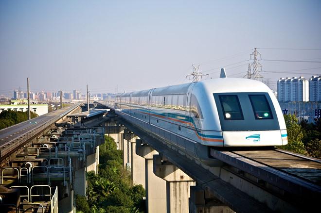 Tàu đệm từ Thượng Hải là tàu đệm từ thương mại nhanh nhất thế giới.
