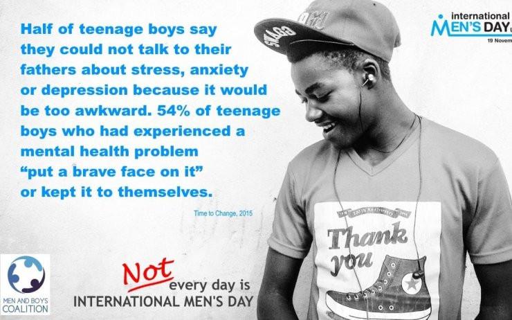 Một nửa nam thiếu niên cho biết họ không thể nói chuyện với bố mình về căng thẳng, lo âu
