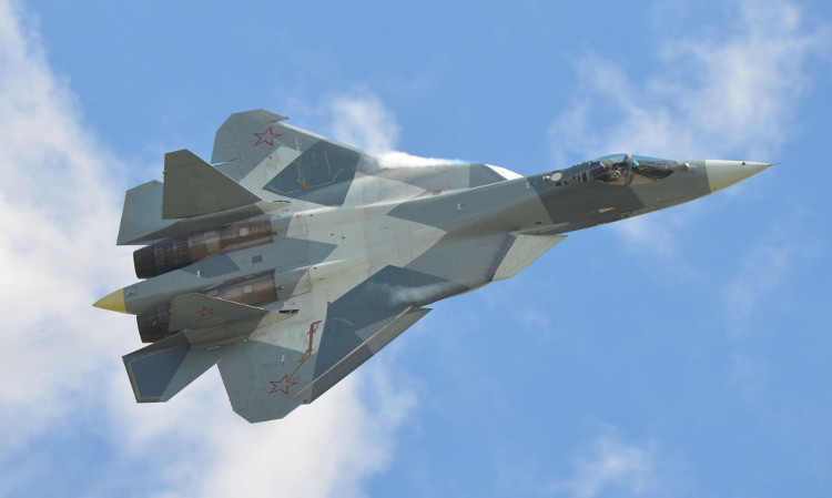 Máy bay chiến đấu đa năng Su-57 còn được biết đến với tên gọi PAK-FA (T-50).