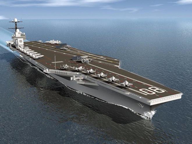 Ảnh đồ họa tàu sân bay USS Enterprise.