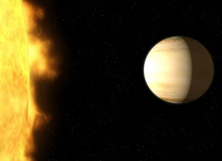 Ngoại hành tinh WASP-39b nằm cách Trái đất 700 năm ánh sáng.