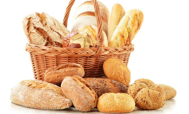 Các loại bánh mì đủ hình dạng khác nhau.