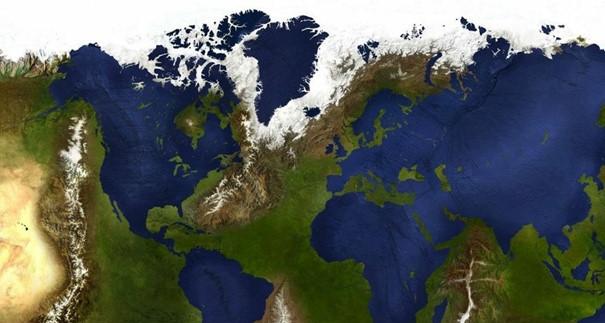 Nếu đại dương và châu lục đổi vị trí thì nguồn nước ngọt trở nên khan hiếm.