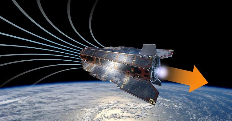 Động cơ đẩy mới có thể giúp vệ tinh hoạt động nhiều năm trên quỹ đạo thấp của Trái đất.