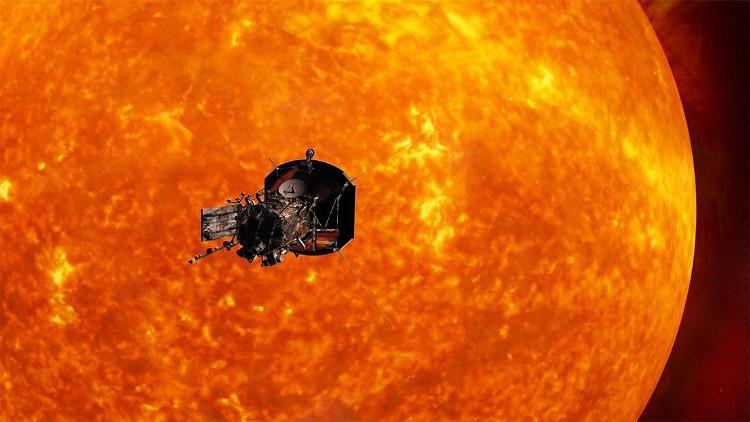 Tàu Parker Solar Probe sẽ di chuyển với vận tốc cực lớn.