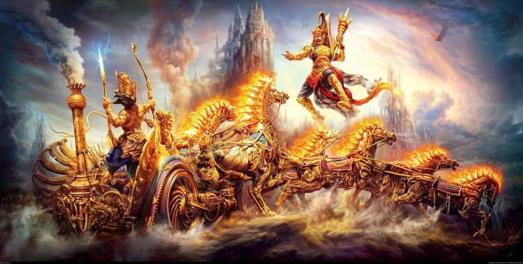 Sử thi Mahabharata của người Ấn Độ