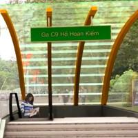 Ga tàu điện ngầm đầu tiên tại Hồ Gươm trông thế nào?