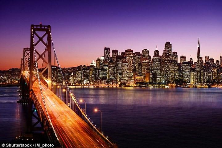 """Thành phố San Francisco, Mỹ, nơi """"đóng đô"""" của Silicon Valley."""
