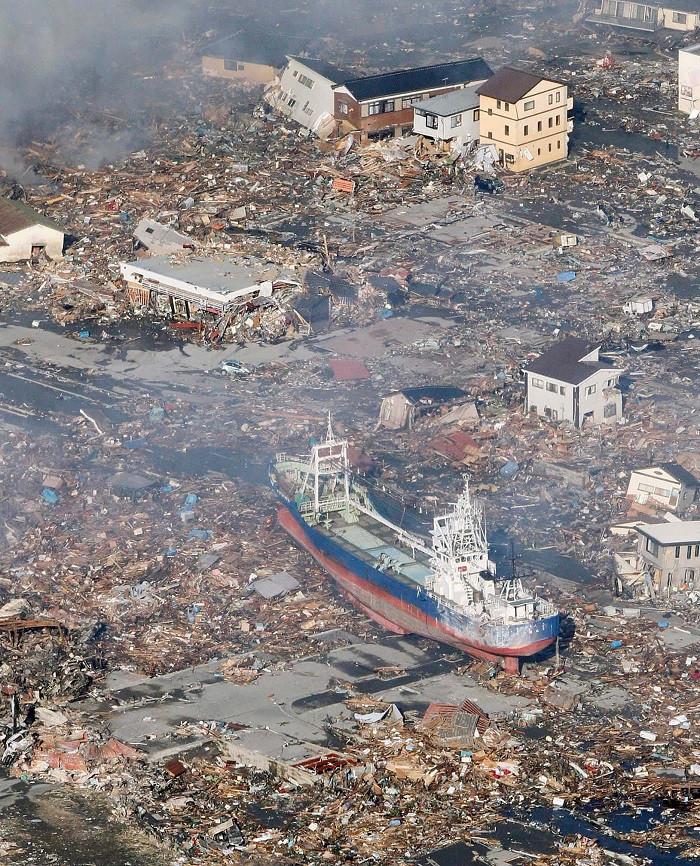 Đây là trận động đất mạnh nhất từng xảy ra ở đất nước mặt trời mọc