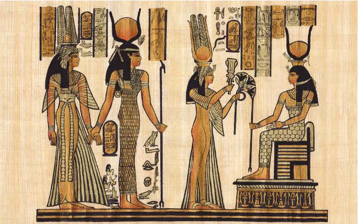 Người Ai Cập cổ đại thường sử dụng nước hoa cho việc cúng bái.
