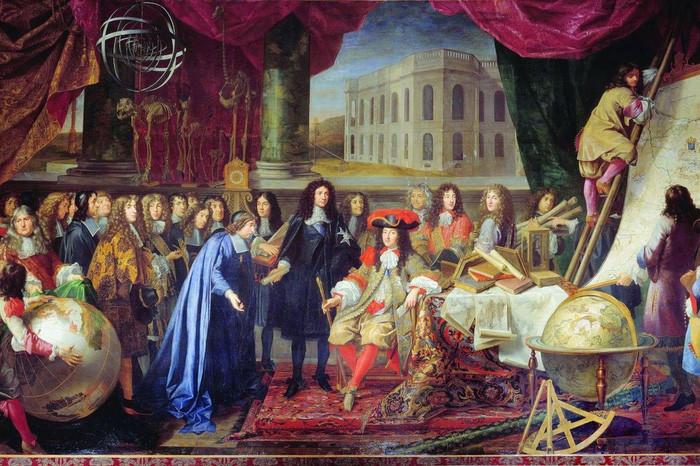 Nơi làm việc của vua Louis XIV luôn ngập trong mùi nước hoa.