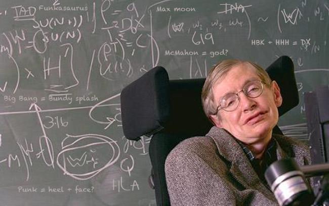 Phần lớn những công trình nổi bật của giáo sư Hawking đều mang tính lý thuyết.