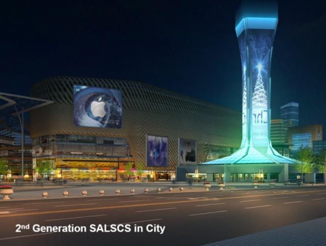 Lắp đặt các tháp SALSCS ở các thành phố lớn, nó sẽ lọc không khí ô nhiễm, làm giảm nồng độ PM2.5.