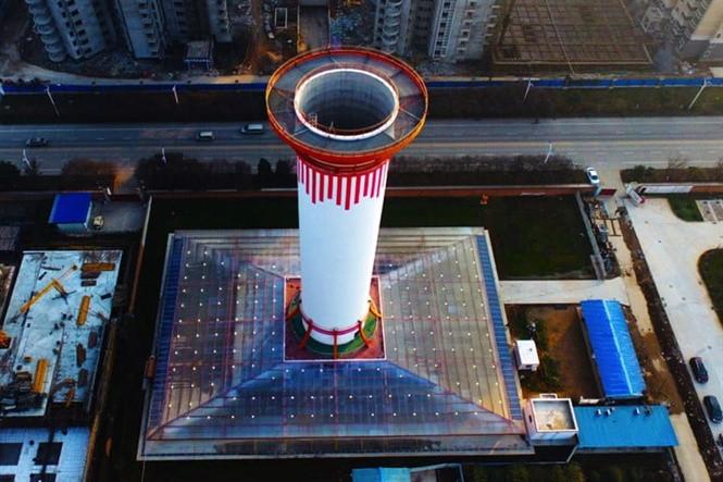 Tháp lọc không khí SALSCS ở Tây An, Trung Quốc.
