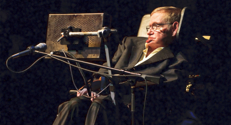 Nhà khoa học Stephen Hawking.