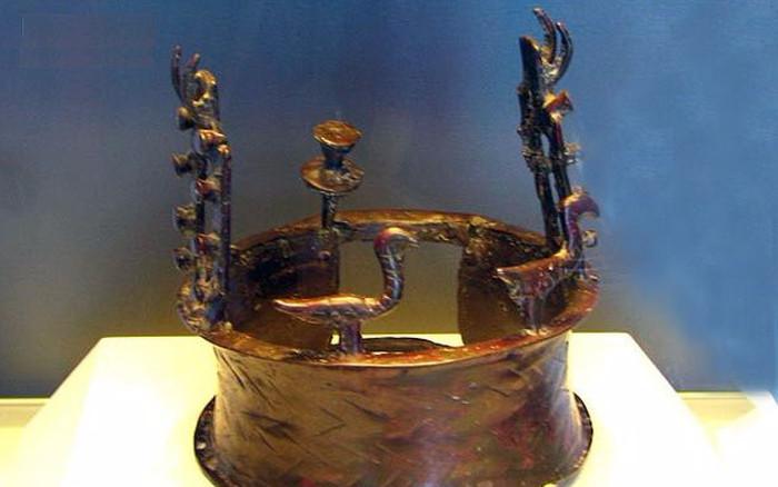 Chiếc vương miện phát hiện trong hang Biển Chết.