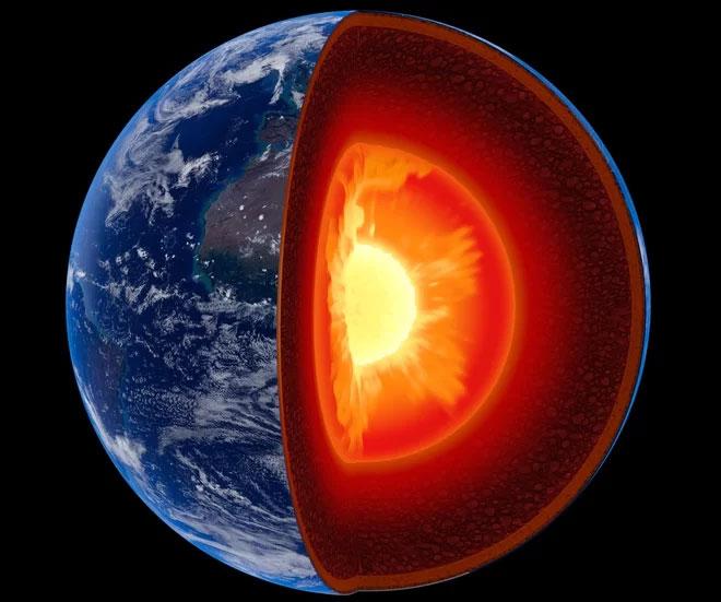 Kim cương được tạo nên từ bên trong lớp vỏ Trái đất thường không chứa được băng-VII.