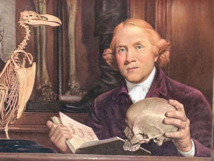 Chân dung bác sĩ John Hunter.