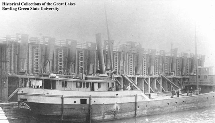 Tàu Margaret Olwill bị đắm cách đây hơn một thế kỷ.