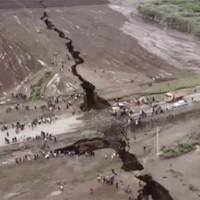 Đất nứt một vết khổng lồ chưa từng có chia đôi lục địa châu Phi