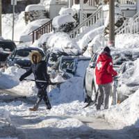 Bão tuyết tại Mỹ khiến hàng nghìn chuyến bay bị hủy bỏ