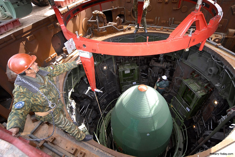 Sarmat là ICBM mạnh nhất thế giới hiện nay.