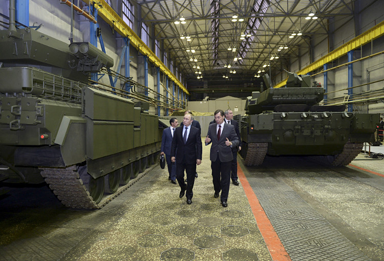 Armata là một dự án mẫu mực giúp định hình đường lối phát triển phương tiện chiến đấu bọc thép mới của Nga.