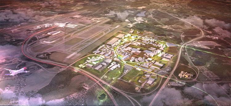 Thành phố sân bay của OAC.