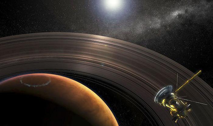 Do quay quanh trục quá nhanh, sao Thổ trở thành hình cầu dẹt
