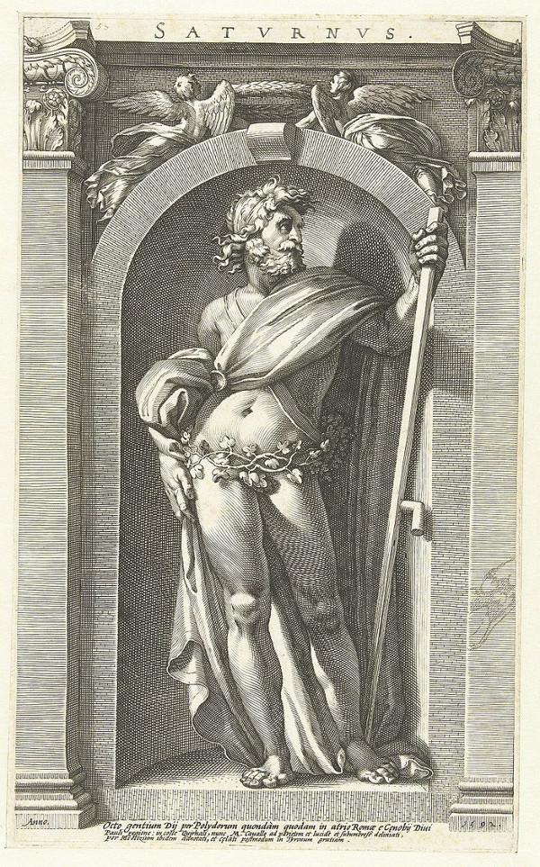 Sao Thổ được đặt tên theo thần thời gian.