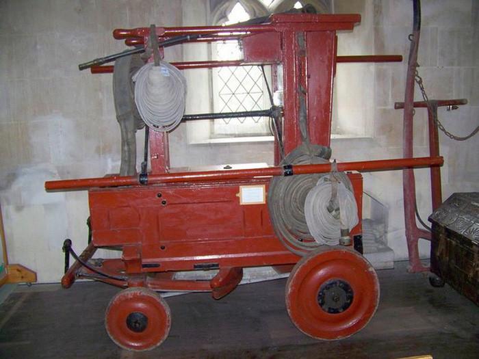 Xe chữa cháy năm 1720