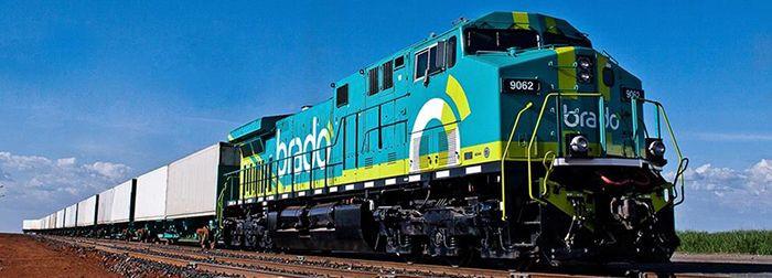 Đường sắt ở Brazil