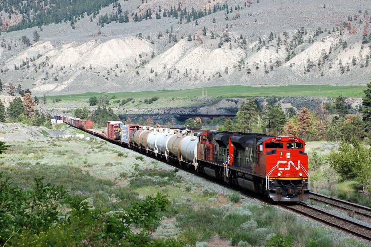Đường sắt ở Canada