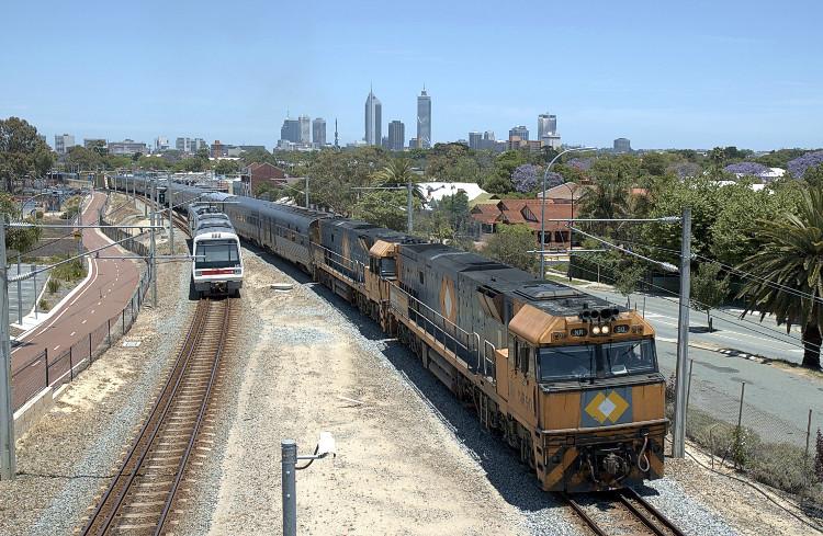 Đường sắt Australia