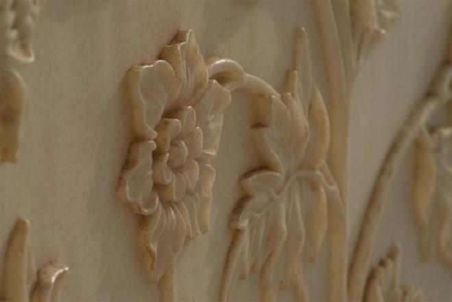 Họa tiết trang trí bên trong lăng mộ