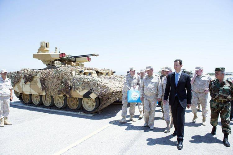 Kẻ hủy diệt 2 được nhìn thấy triển khai đến Syria nhưng chưa rõ mục đích của nó là gì.