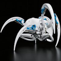 Nhện robot có thể gập người và uốn cong y hệt loài nhện sa mạc ở châu Phi