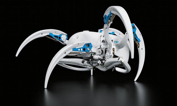 Nhện robot của công ty tự động hóa Festo.