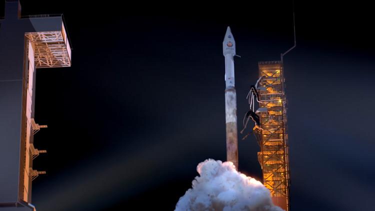 Hình ảnh thử nghiệm tên lửa được phóng vào tháng 5.