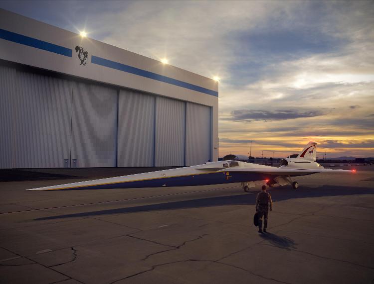 """Thiết kế máy bay """"X-plane"""" của NASA."""
