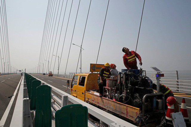 Dự kiến sẽ có khoảng 40.000 phương tiện đi qua lại cây cầu này hàng ngày