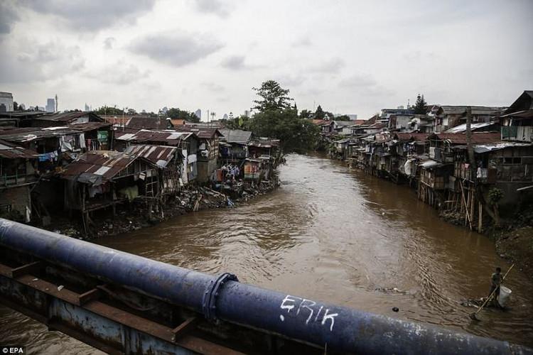 Jakarta đang xây dựng hệ thống vành đai quanh thành phố nhằm tránh nước tấn công.