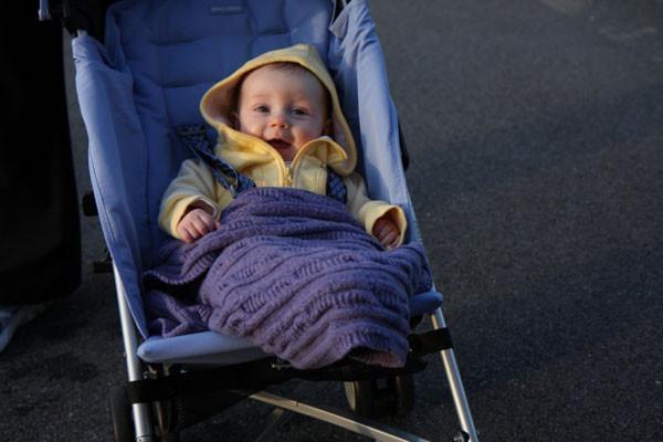 Người Na Uy cho con ngủ bên ngoài khi trời lạnh