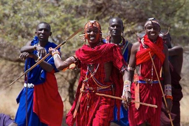 Những người đàn ông của bộ tộc Barabaig