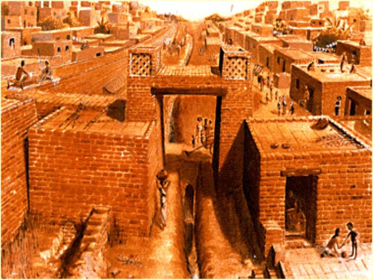 Thành phố Harappa cổ.