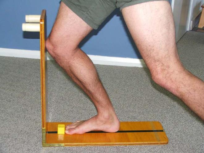 Thử nghiệm để đo độ linh hoạt của khớp mắt cá chân.