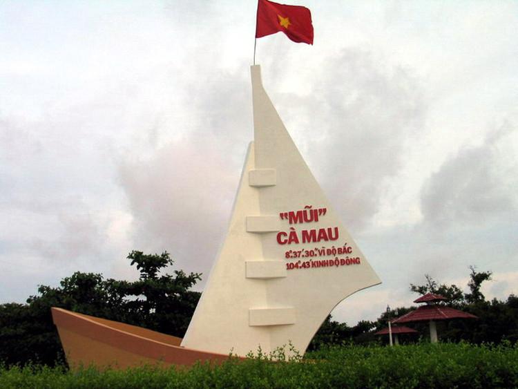 Điểm cực Nam của Việt Nam