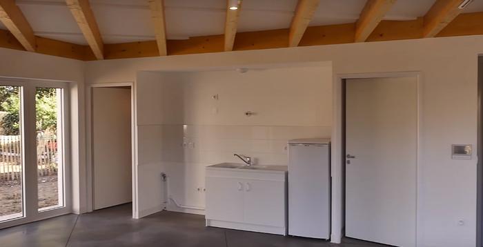 Bên trong căn hộ xây dựng bằng công nghệ in 3D ở Nantes, Pháp