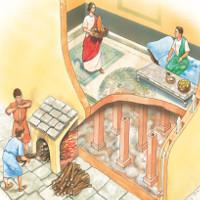 Người La Mã cổ đại tạo ra hệ thống sưởi ấm thế nào?
