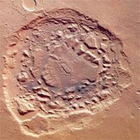Vết tích nghi là siêu núi lửa trên sao Hỏa